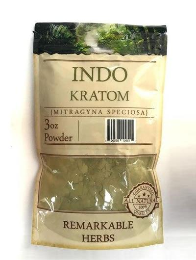 Remarkable Herbs Indo Kratom Powder