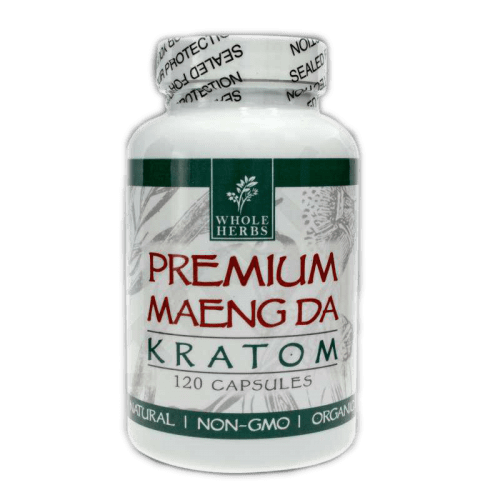 Whole Herbs Premium Maeng Da Kratom Capsules
